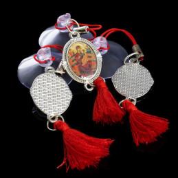 Obiecte bisericesti Medalion auto oval din metal Ventani 2535
