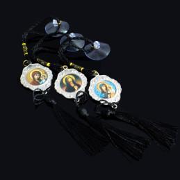 Obiecte bisericesti Medalion auto rotund  din metal Ventani 2537