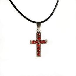 Obiecte bisericesti | Colier cruce metalica | 1807