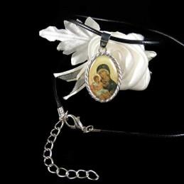 Obiecte bisericesti | Colier medalion Icoana Maicii Domnului | 1811
