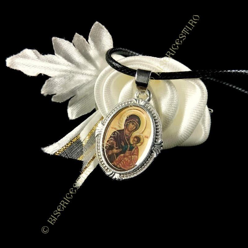 Obiecte bisericesti | Colier medalion Icoana Maicii Domnului | 1812