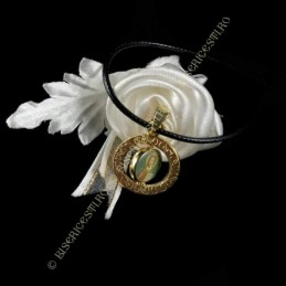 Obiecte bisericesti | Colier medalion Icoana Maicii Domnului rotativa | 1814