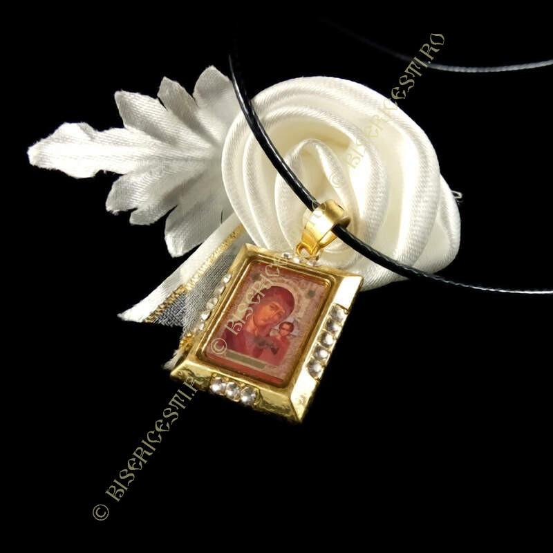 Obiecte bisericesti | Colier placuta Icoana Maicii Domnului | 1815