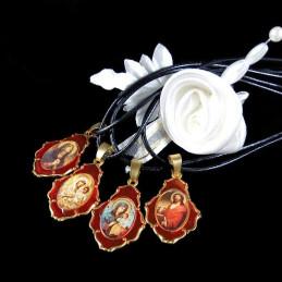 Obiecte bisericesti | Colier medalion Icoana Maicii Domnului | 1818