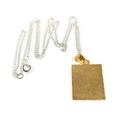 Obiecte bisericesti | Colier placuta metalica  | 1820