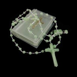Obiecte bisericesti | Colier bile si cruce din plastic | 1838