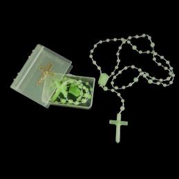 Obiecte bisericesti   Colier bile si cruce din plastic   1838