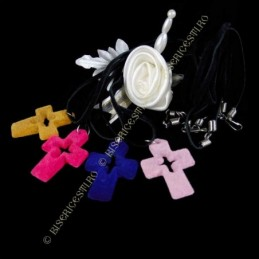 Obiecte bisericesti | Colier cruce din plastic decupata | 1839
