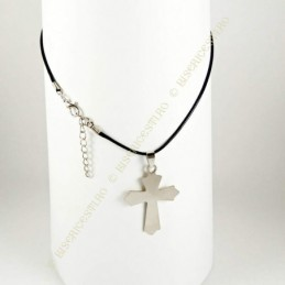 Obiecte bisericesti | Colier cruce din inox | 1849
