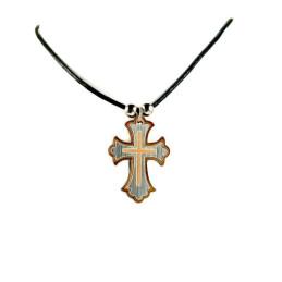Obiecte bisericesti | Colier cruce din lemn | 1852