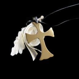 Obiecte bisericesti | Colier cruce din inox | 1858