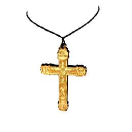Obiecte bisericesti | Colier cruce din lemn | 1860