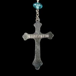 Obiecte bisericesti | Colier cruce metalica sculptata | 1861