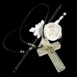 Obiecte bisericesti | Colier cruce din plastic  | 1866