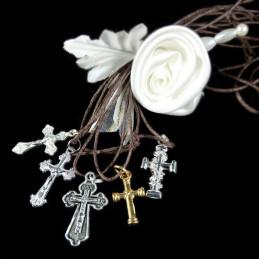 Obiecte bisericesti | Colier cruce metalica diverse modele | 1874
