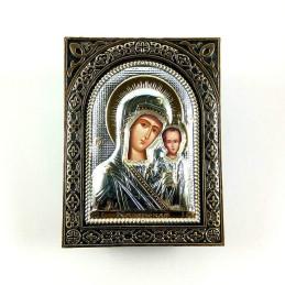Obiecte bisericesti | Cutie cu Icoana Maicii Domnului din plastic 10cm | 5800