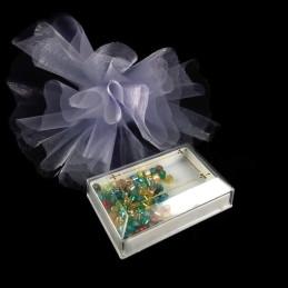 Obiecte bisericesti | Cutie cu cruce din plastic 65mm | 5805