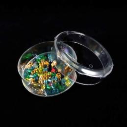 Obiecte bisericesti | Cutie cu rotunda din plastic 2cm | 5808